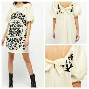 Free People | Embroidered Fiona Dress